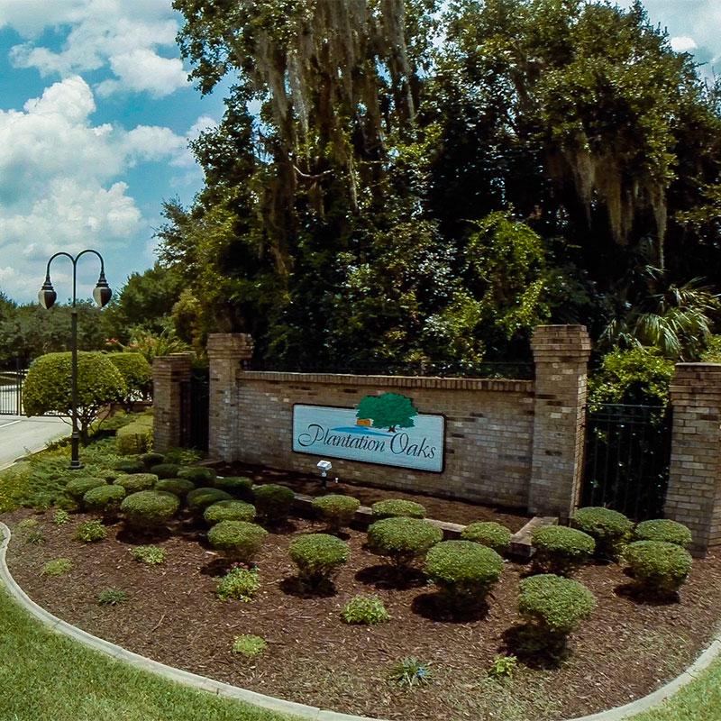 Prime Plantation Oaks Florida Active 55 Retirement Community Home Interior And Landscaping Eliaenasavecom